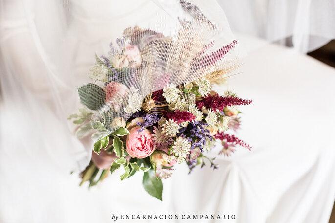 Buquê de noiva, Encarnación Campanario.