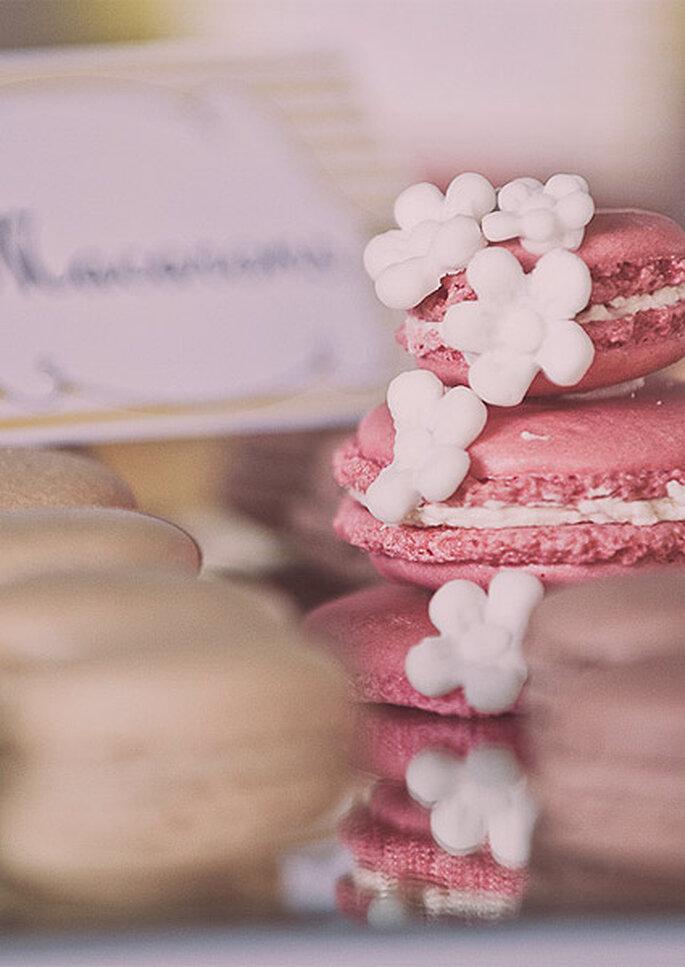 La barra libre de dulces fue una de las sorpresas de la boda. Foto: Adrián Tomadín