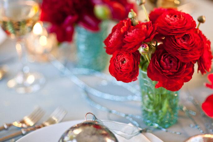 Tintes rojizos y magia en tu boda - Foto Katelyn James