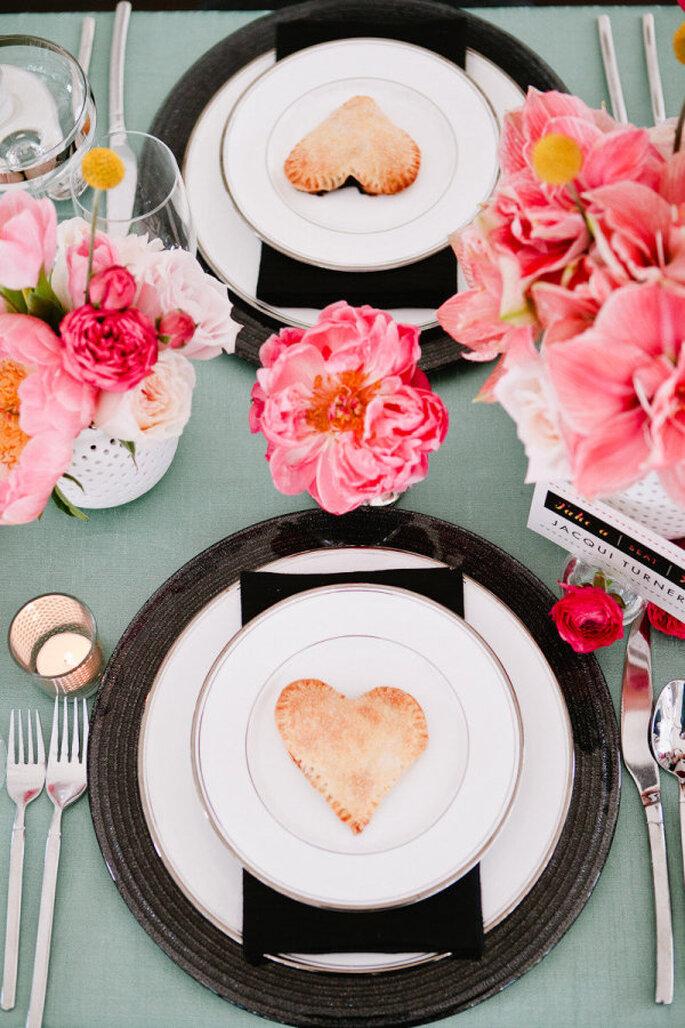 decoración de bodas en color menta- Brian Leahy Photography