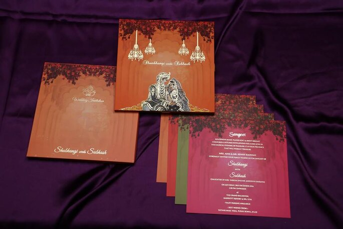Photo: Raga Wedding Cards.
