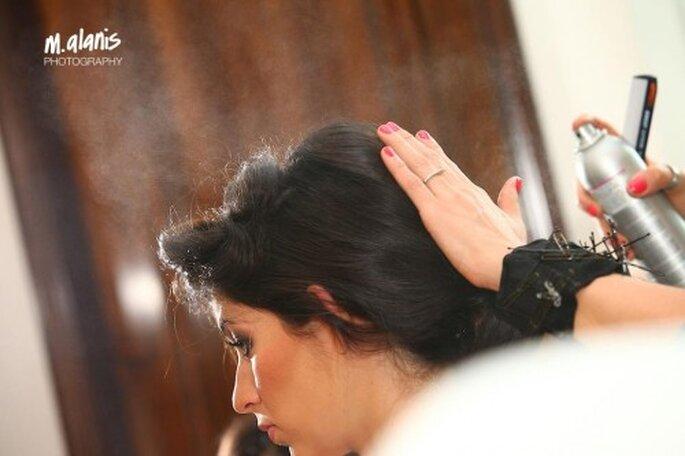 Acude a pruebas de peinado para elegir el mejor - Foto Mauricio Alanis