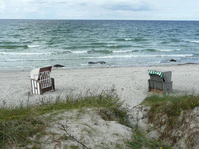 Strand von Hiddensee