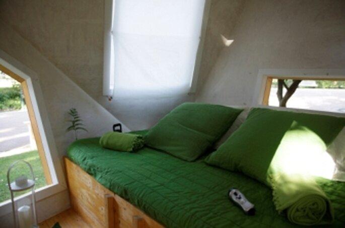 Tree Hotel - foto do interior