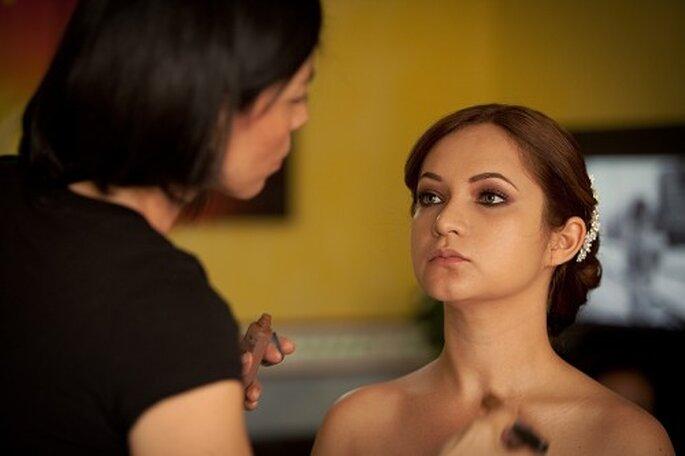 Cómo elegir a tu maquillista profesional para la boda. Foto Alberto Del Toro