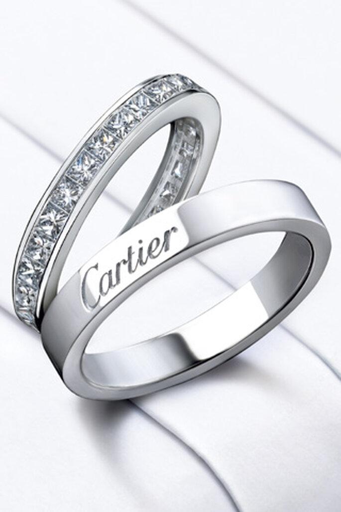 Planear boda en Colombia. Alianzas de Cartier