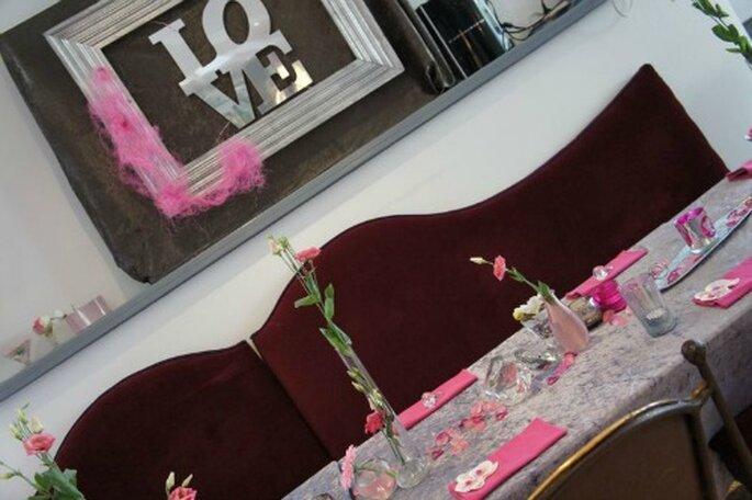 Mariage dans un réception : on mise sur une déco raffinée et flashy ! - Photo : One Day Event