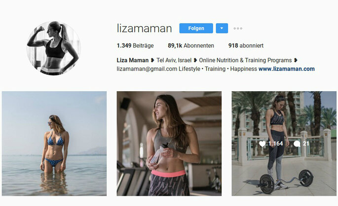 Liza Maman/Instagram
