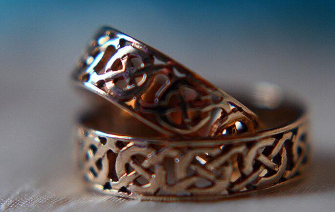 Argollas estilo celta