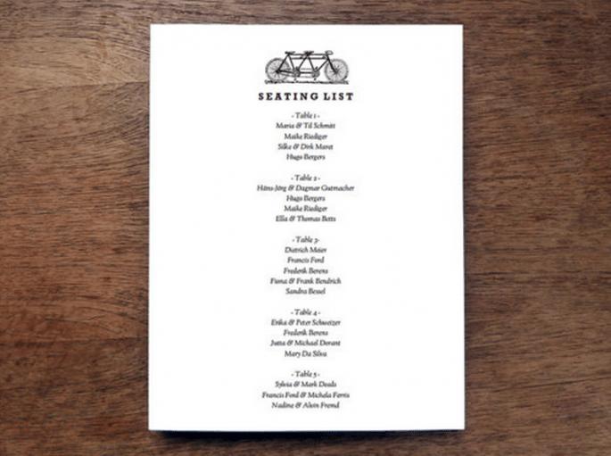Trata de recortar tu lista de invitados para que ahorres más el día de tu boda - Foto Etsy