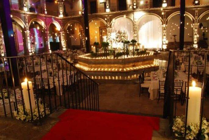 Patios que engalanarán la ambientación de tu boda - Foto Ex Convento de San Hipólito