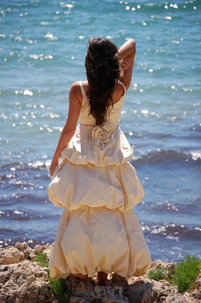 Vestido de novia con olor - Madre Mía del Amor Hermoso
