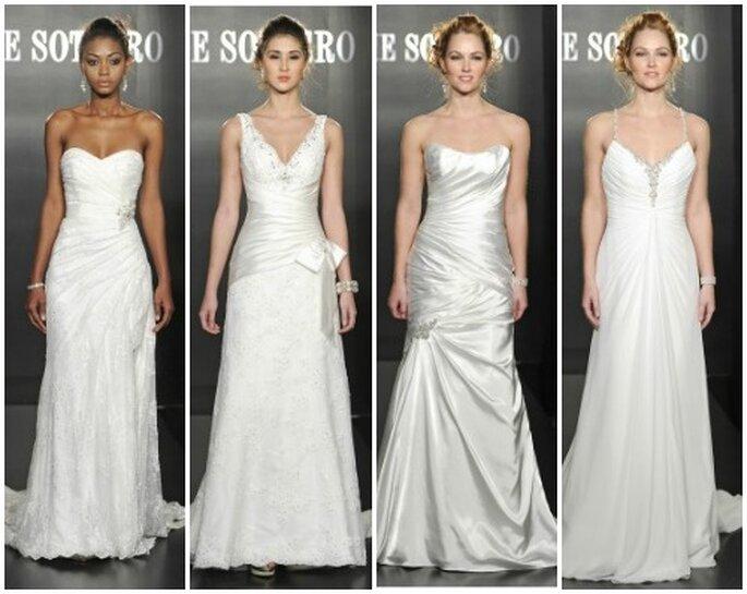Altri quattro modelli della Spring Collection 2013 di Maggie Sottero. Foto: www.maggiesottero.com