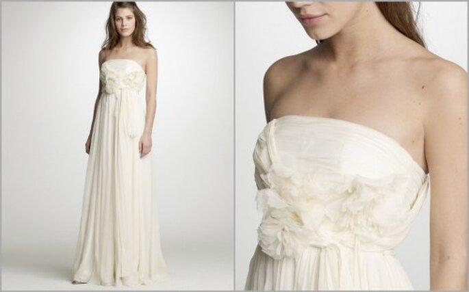 Vestido de Noiva J. Crew 2011 - modelo Augusta