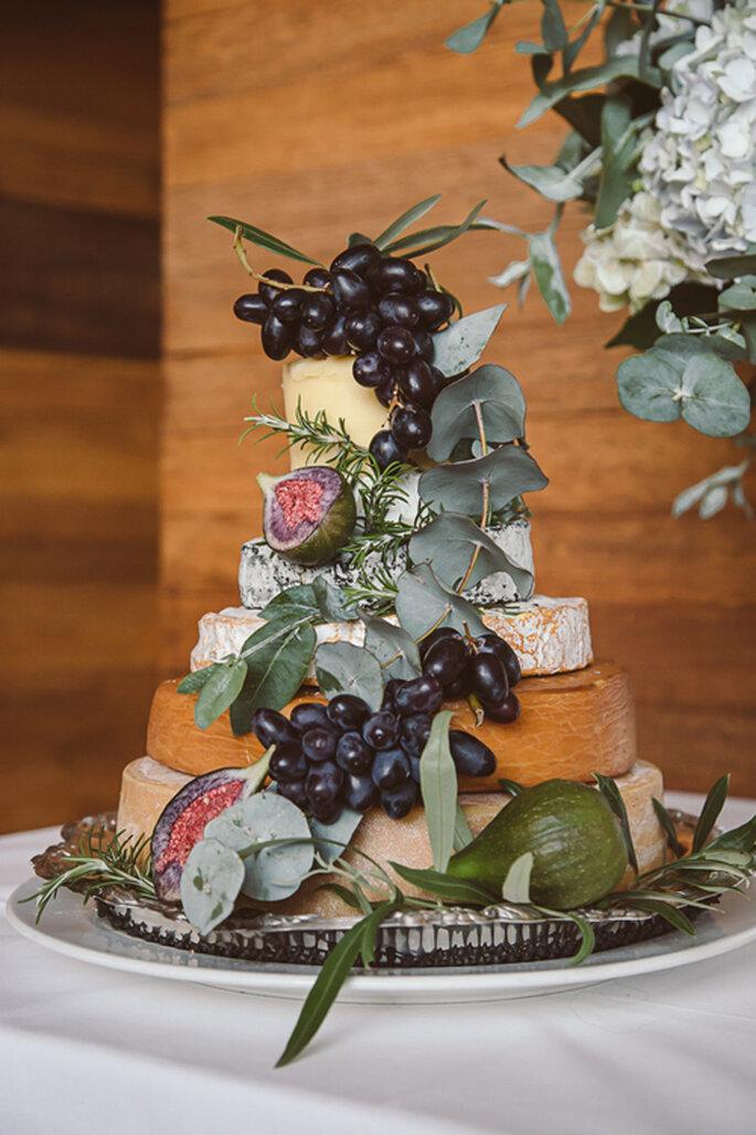 bolo com frutas e ervas