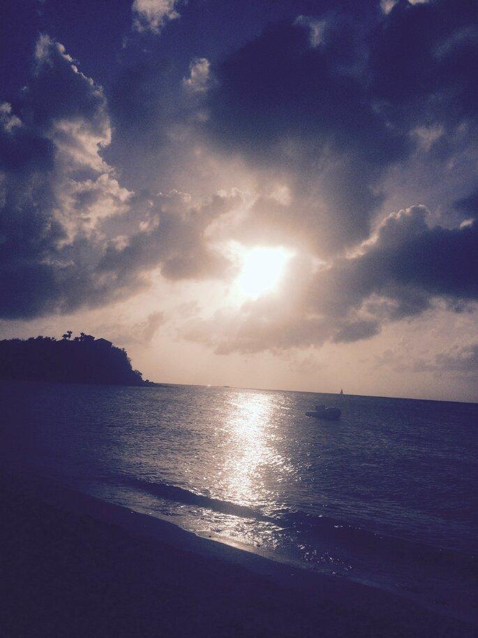 Photo : Mademoiselle Soleil - Coucher de soleil Friars Bay
