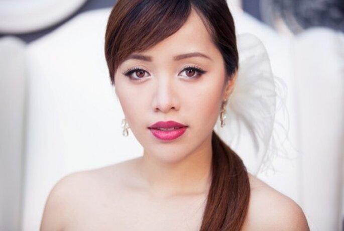 Maquillaje glamouroso para novias - Foto Michelle Phan Facebook