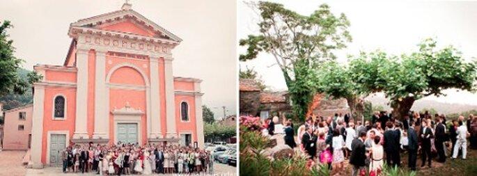 Profitez des paysages paradisiaques de la Corse pour votre réception de mariage - Crédit Photos : La Mariée Aux Pieds Nus, Studio PLP