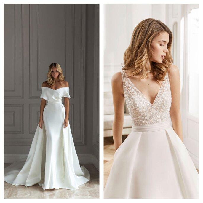 Robe de cérémonie civile ou de mariée