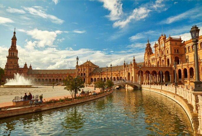 Flitterwochen in Spanien