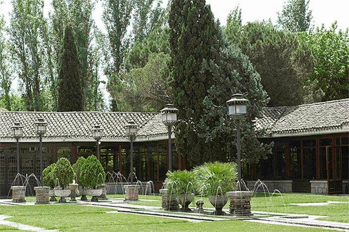 Este rincón de Toledo cuenta con una experiencia en gastronomía para eventos que suma cuatro generaciones. Foto: La Quinta de Illescas