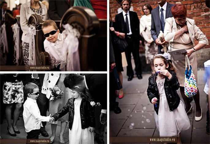 Niños divirtiendose en una boda - Foto: www.snapstudio.eu
