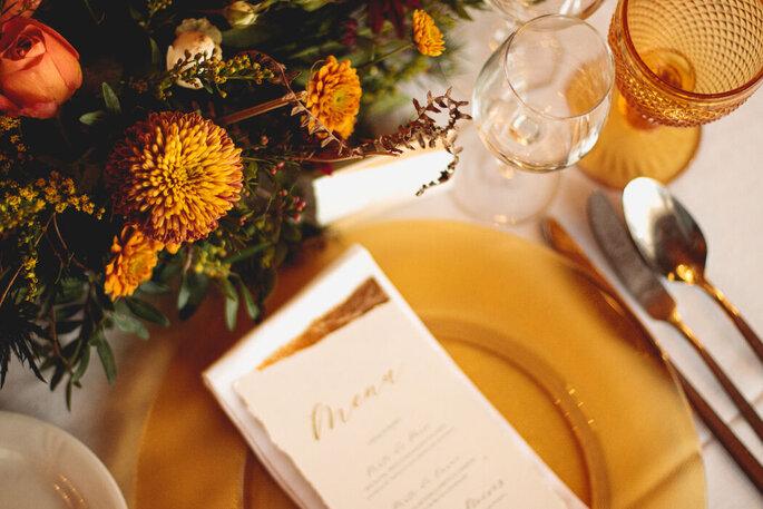 decoração casamento outono