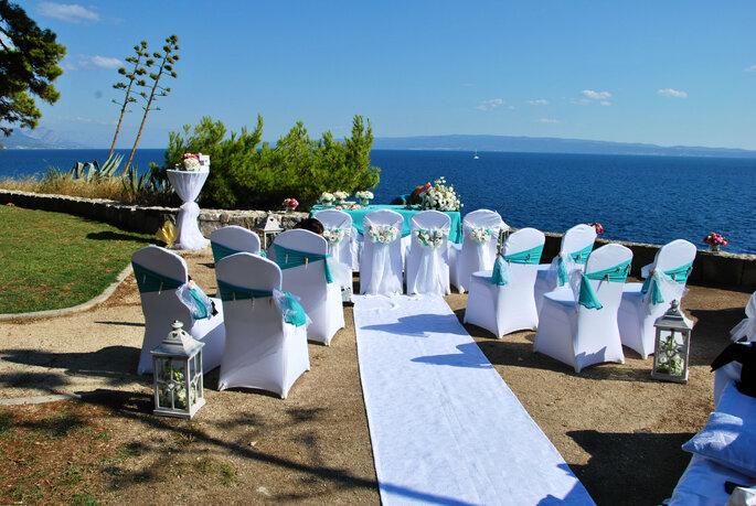 Pinija wedding / ślub w Chorwacji