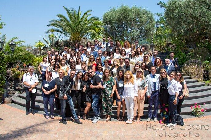 Wedding Club Napoli: il grande gruppo al completo - Foto: Nello di Cesare