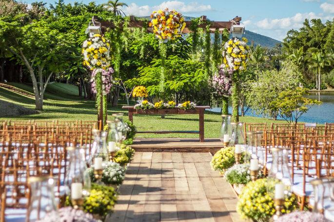 Espaço Shangrilá - Casamento ao ar livre em BH e região