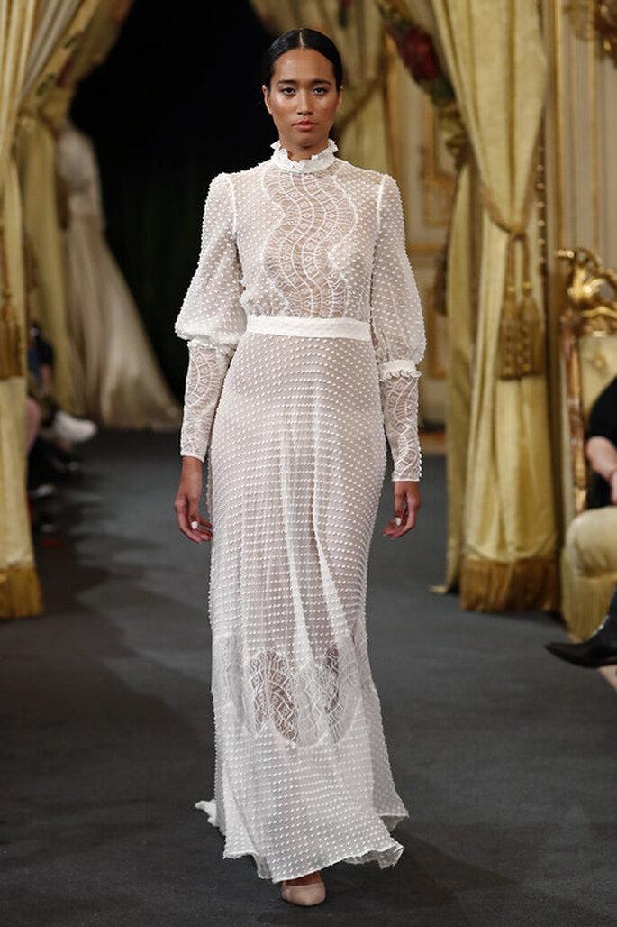 Raquel Ferreiro diseñadora de vestidos de novia en Madrid