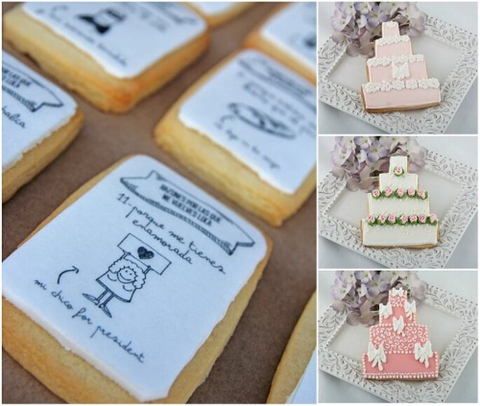 Cookies de diseño de Mr. Wonderful y Couture Cookies