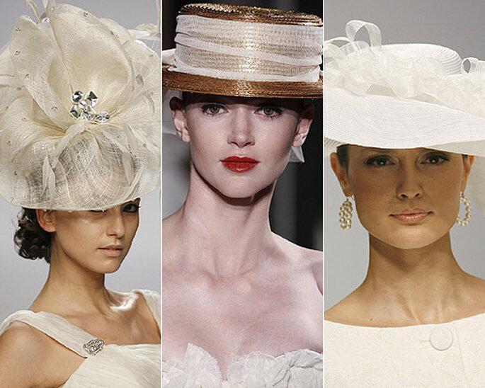 Cappelli da sposa per non passare inosservate