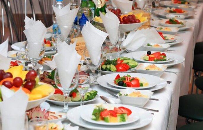 Deja que el catering lo preparen estudiantes de gastronomía para que puedas ahorrar - Foto Weddings in my City
