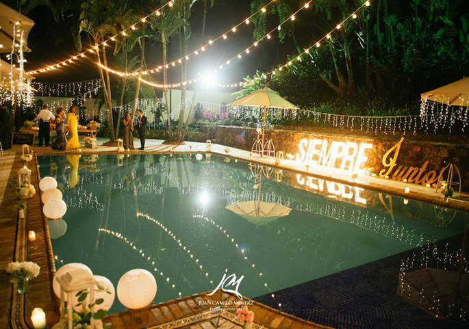 7 Ideas De Decoracion De Piscinas Para Bodas Cual Eliges - Decoraciones-de-piscinas