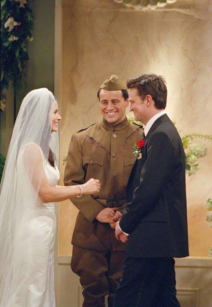 Monica et  Chandler - Facebook officiel Friends