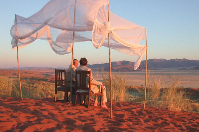 Eine wüste Hochzeit - Namibia