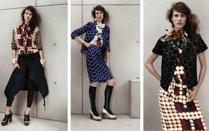 Abitini e gonne grintose per una donna moderna. Collezione Marni per H&M