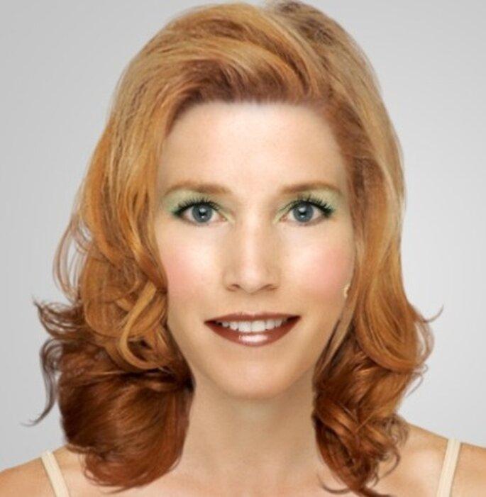 Maquillage CHANEL pour mariée rousse - Dailymakeover.com - Rouge à lèvres Rouge Coco : teinte Cashmere, Ombre à paupières Illusion d'ombre : teinte Epatant