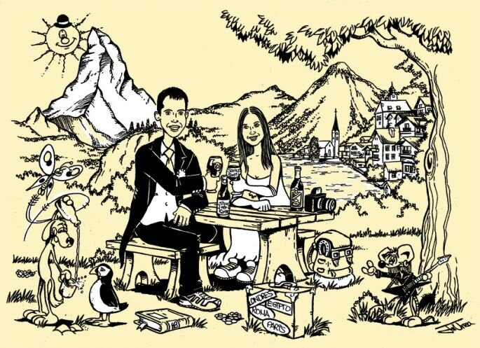 Wedding Invitations by El Coyote