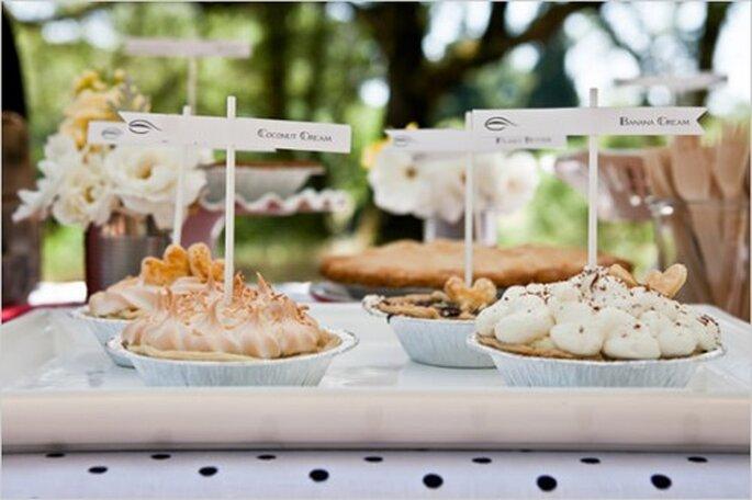 sorprende a todos tus invitados con unas ricas galletas gourmet el día de tu voda - Foto Allyson Wiley