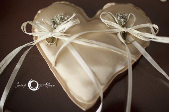 Corazones en tu boda. Fotografía Joseph Alfaro