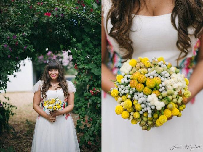 Real Wedding: Una boda de impacto en una prisión vieja - Jenni Elizabeth