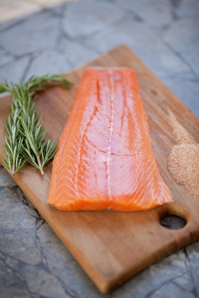 El salmón será perfecto para nutrir tu cerebro - Foto Caroline Tran