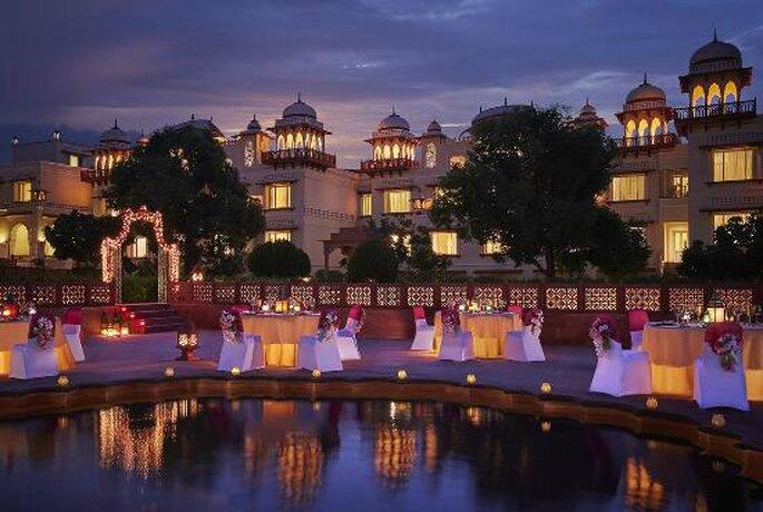 Photo: Rambagh Palace.