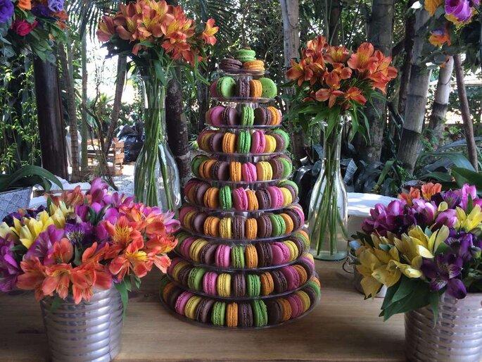 Macarons ganham espaço na mesa de doces - May Macarons – Foto: Divulgação.