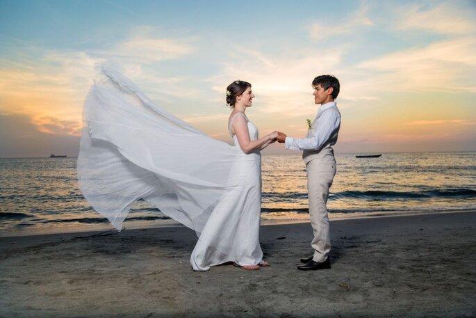 JLPlanner-Wedding Planner sesión de fotos en la playa
