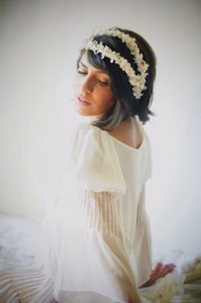 Tocados para novias Cherubina 2011: florecitas