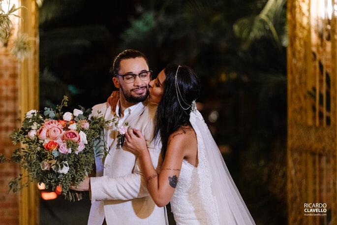 Beijo noiva