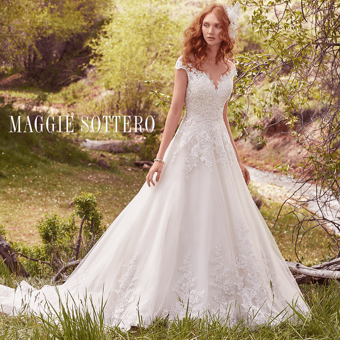 Lena.  Maggie Sottero: Cordelia Collection.